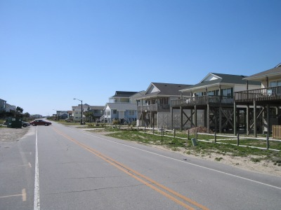 Beach Drive on Oak Island
