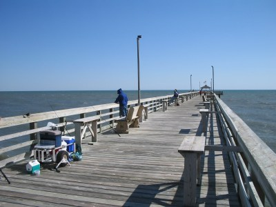 How To Pier Fish Oak Island Nc