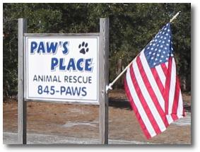 Paw's Place Animal Rescue - Boiling Spring Lakes, NC