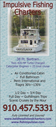 Impulsive Fishing Charters Brochure